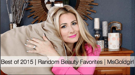 random beauty favorites