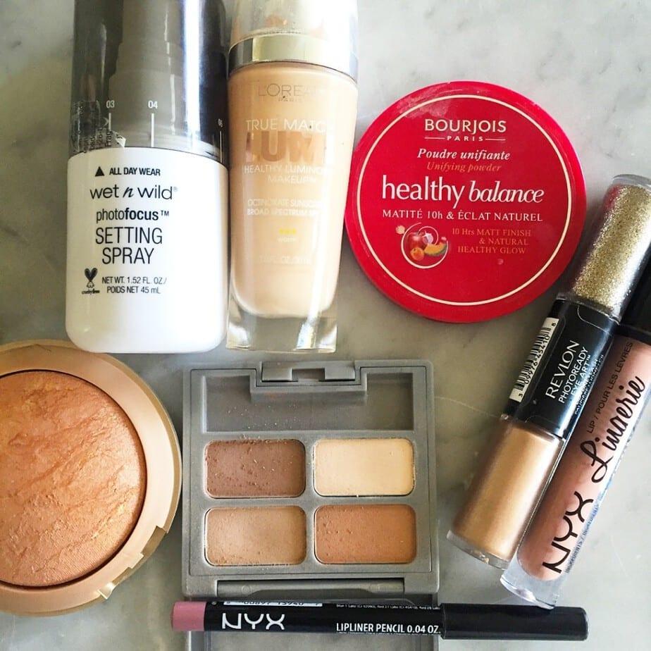 Drugstore makeup FOTD