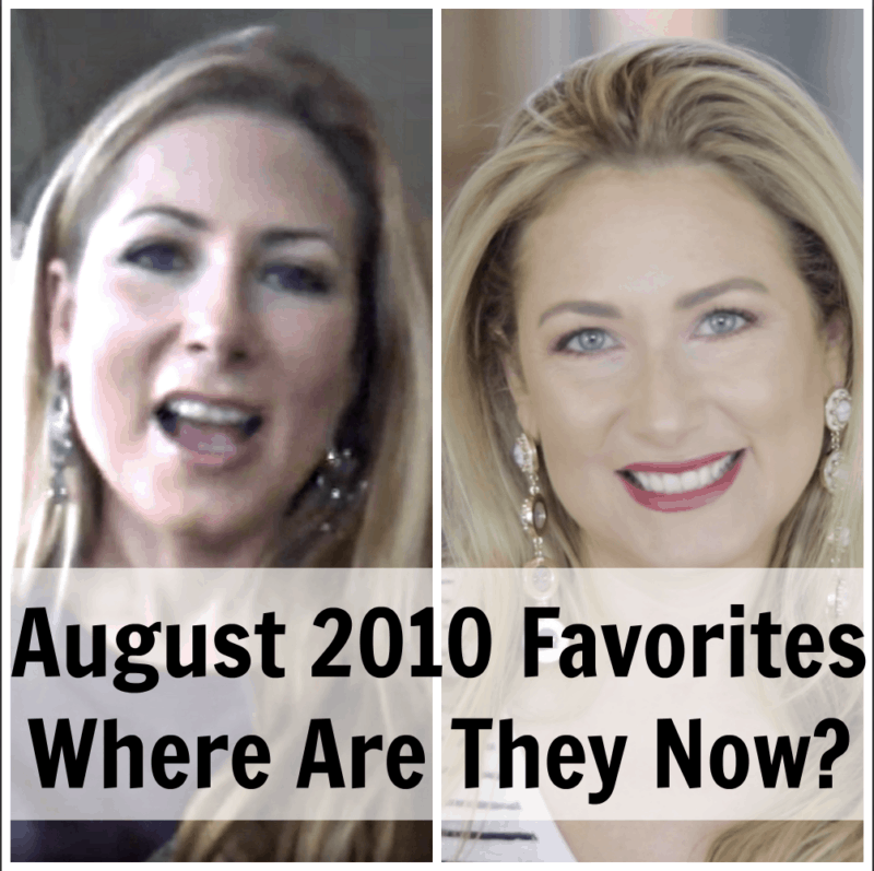 Where Are They Now August 2010 Favorites