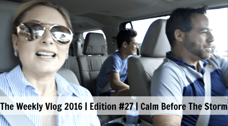 Weekly Vlog Calm Before The Storm Goldberg Family