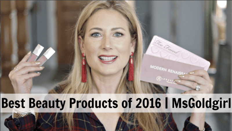 MsGoldgirl's Best Beauty Products of 2016
