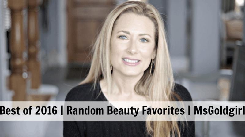 Marnie's Random Beauty Favorites of 2016