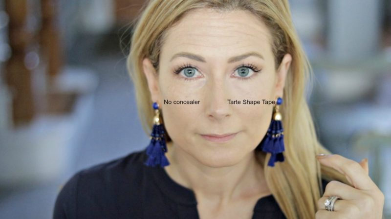Undereye Concealer for Mature Skin-this is Tarte Shape Tape.