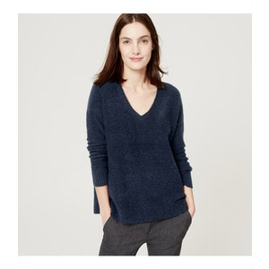 Loft Relaxed V-Neck Sweater, a top seller on MsGoldgirl from 2016