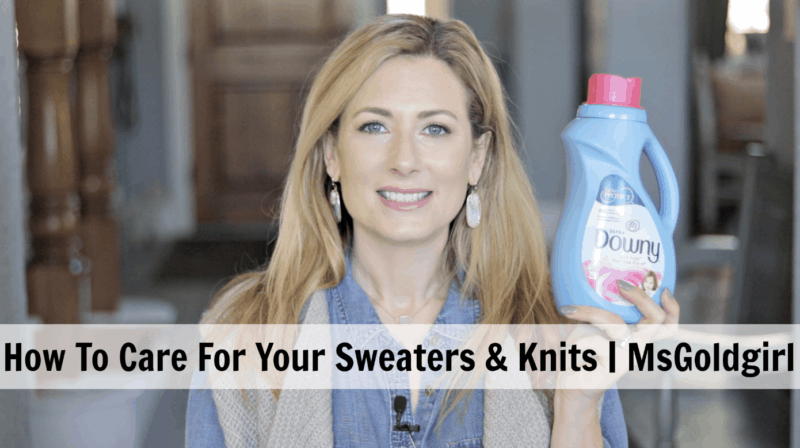How To Care For Your Sweaters At Home With Downy