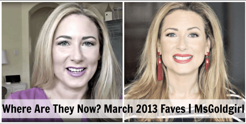 Where Are They Now Looking Back at March 2013 Favorites