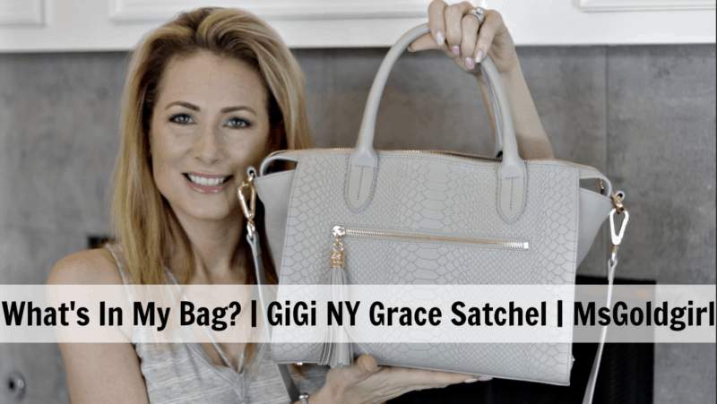 GiGi New York Grace Satchel