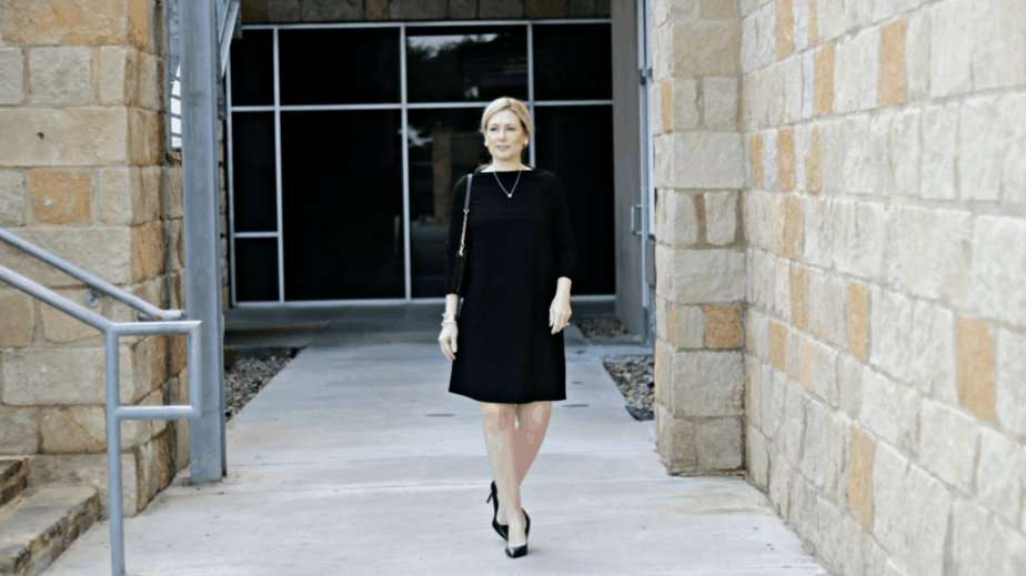 Eileen Fisher Boatneck Dress