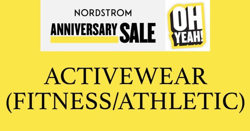 Nordstrom anniversary sale 2020 activewear