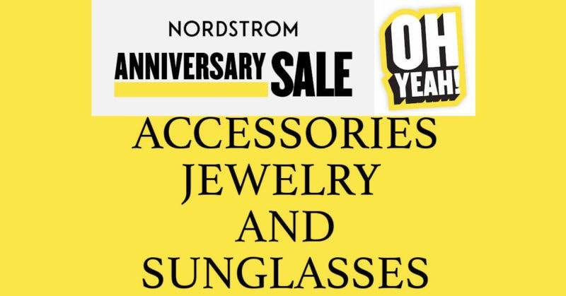 Nordstrom 2020 Anniversary Sale Accessories Jewelry Sunglasses