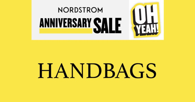Nordstrom Anniversary Sale 2020 Handbags