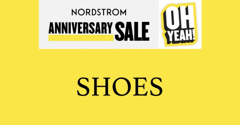 Nordstrom Anniversary Sale 2020 Shoes