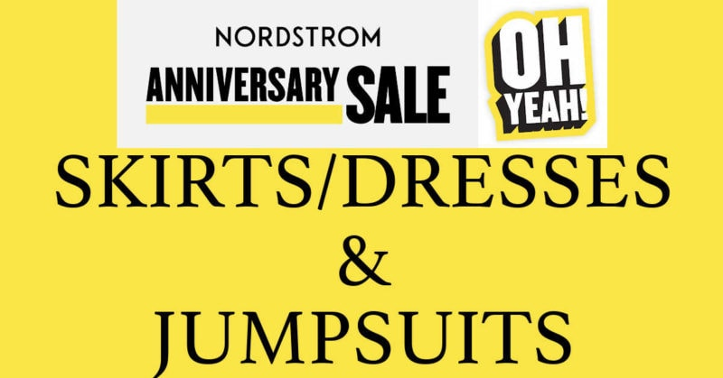 Nordstrom Anniversary Sale 2020 Skirts Dresses and Jumpsuits