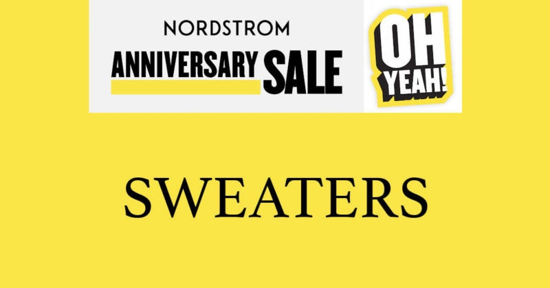 Nordstrom Anniversary Sale 2020 Sweaters