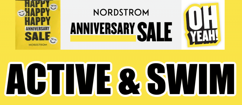 Nordstrom Anniversary Sale Activewear and Swim Recommendations