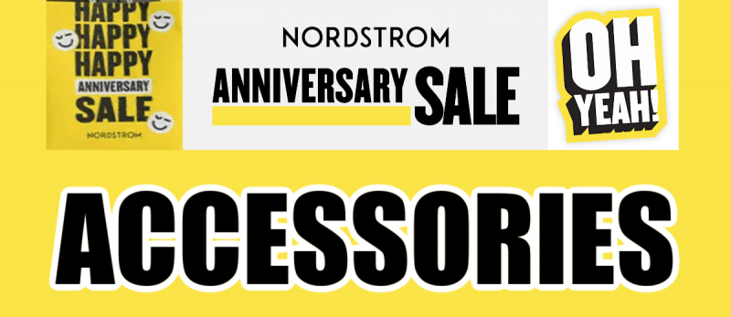 Nordstrom Anniversary Sale Accessories Recommendations