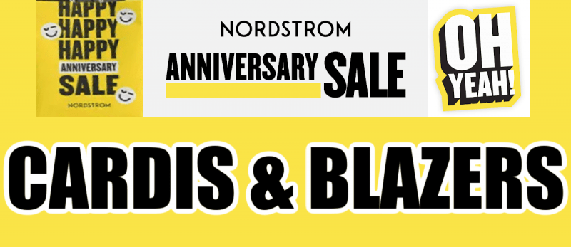 Nordstrom Anniversary Sale Cardigans Recommendations
