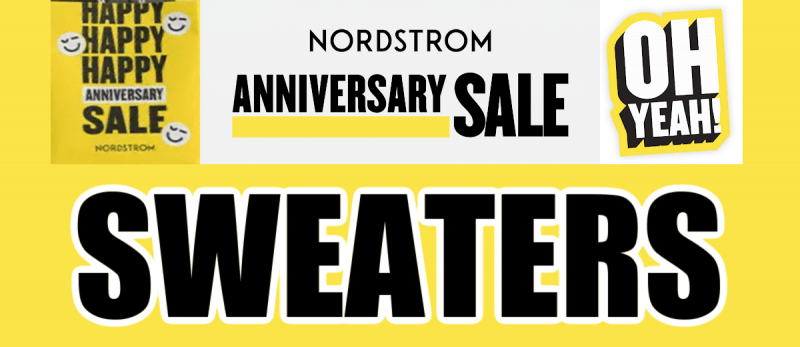 Nordstrom Anniversary Sale Sweaters Recommendations