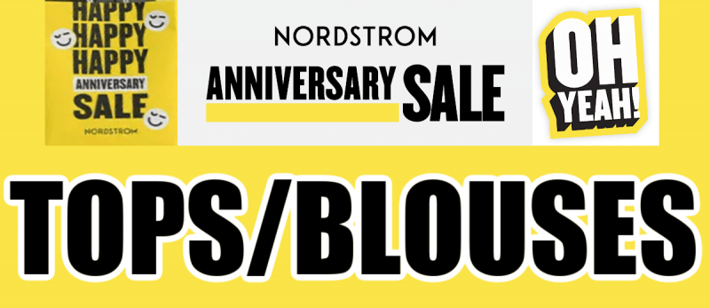 Nordstrom Anniversary Sale Tops and Blouses Recommendations